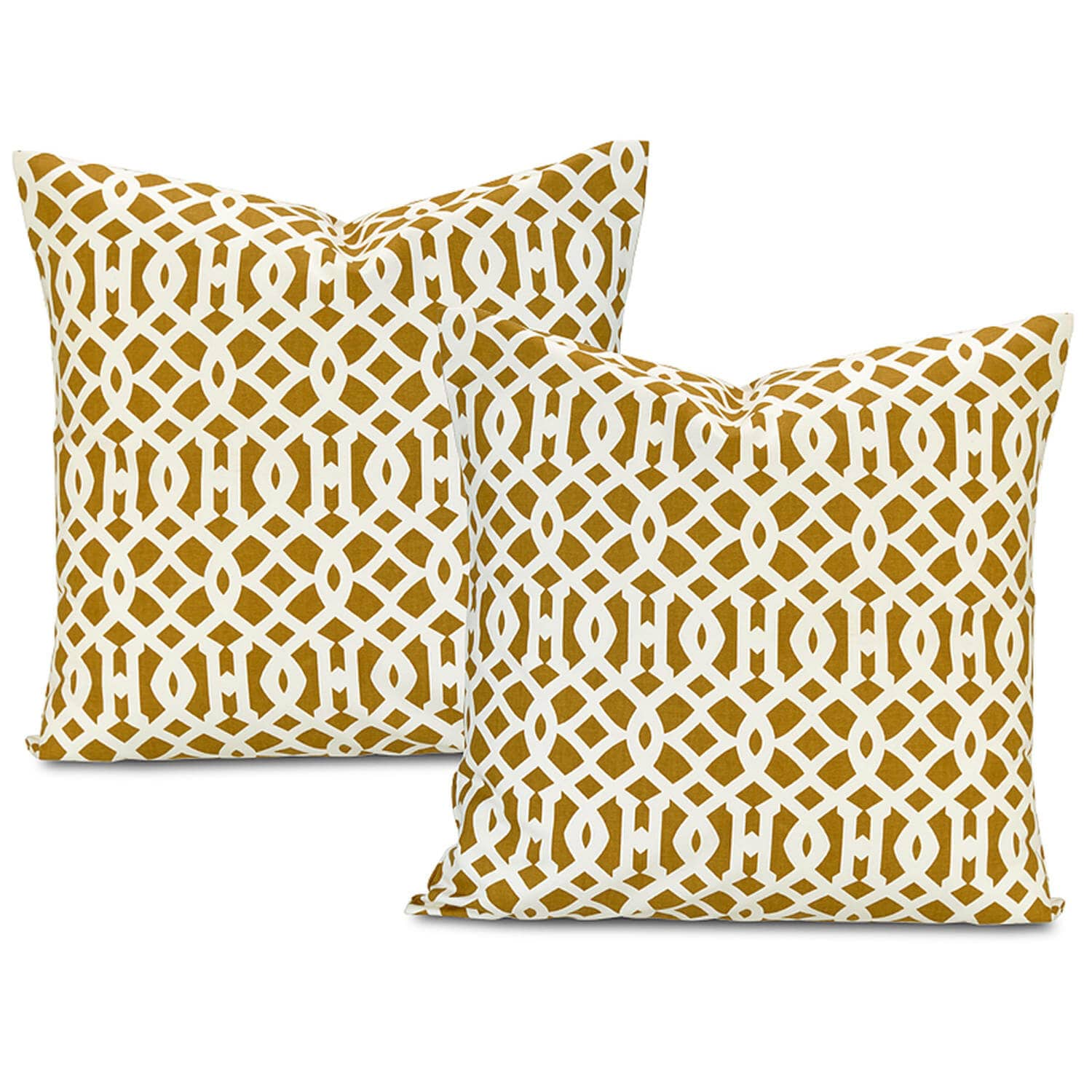 Nairobi Desert Printed Cotton Cushion Covers -  Pair