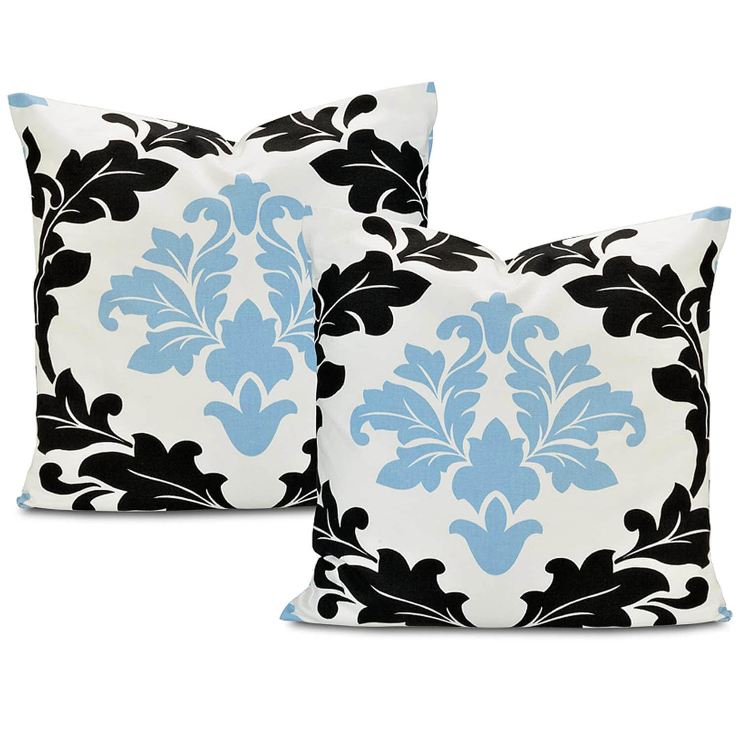 Deauville Printed Cotton Cushion Covers - Pair