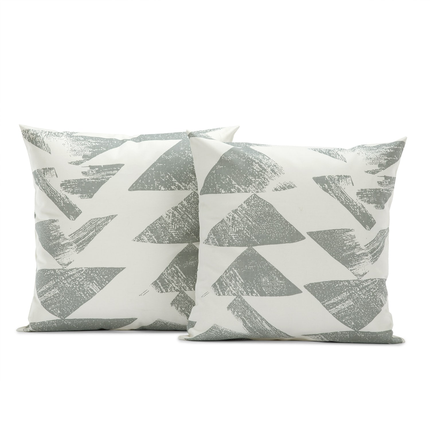 Traid Smoke Printed Cotton Cushion Covers - PAIR