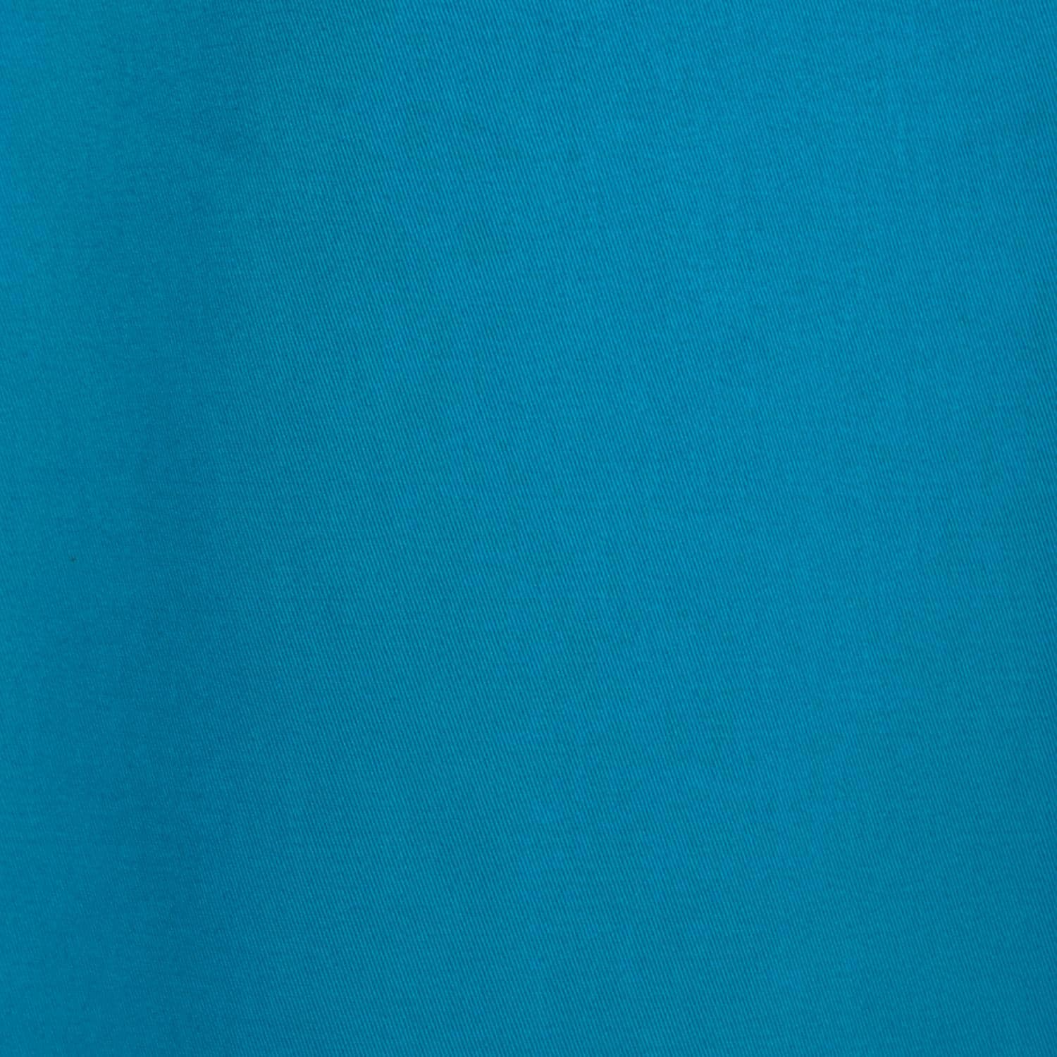 Capri Teal Cotton Twill
