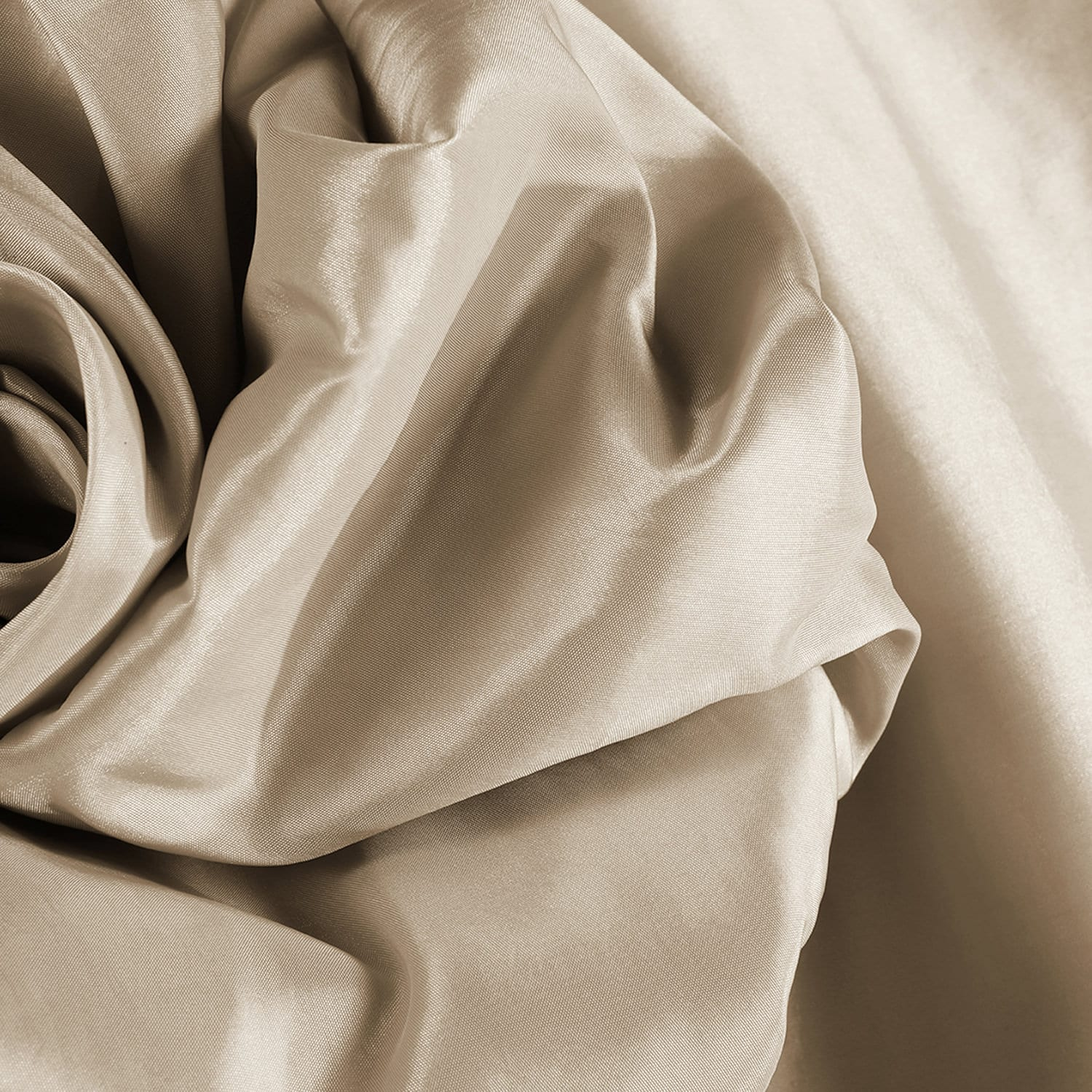 Glazed Parchment Blackout Extra wide Faux Silk Taffeta Swatch