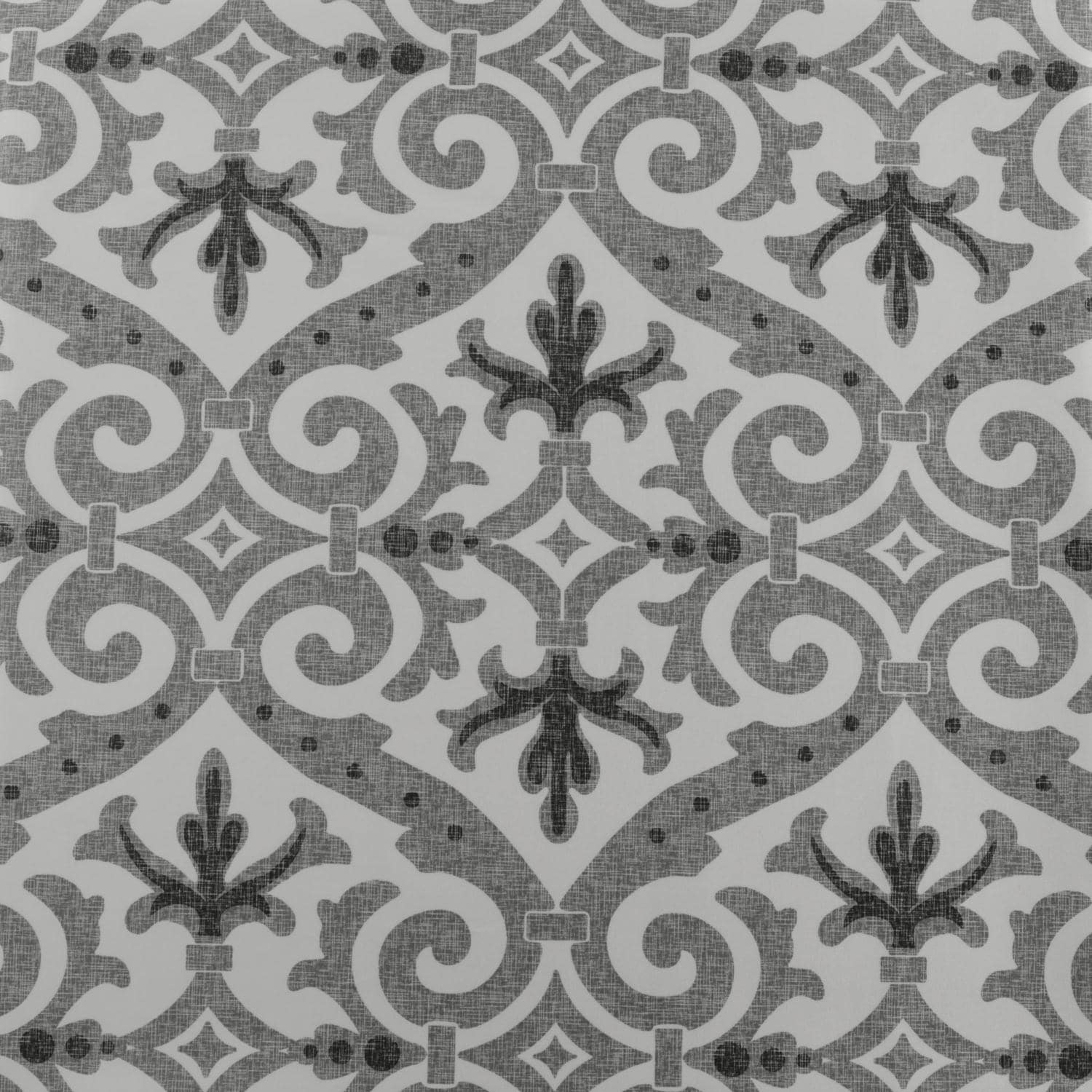 Iron Gate Grey Designer Printed Blackout Swatch