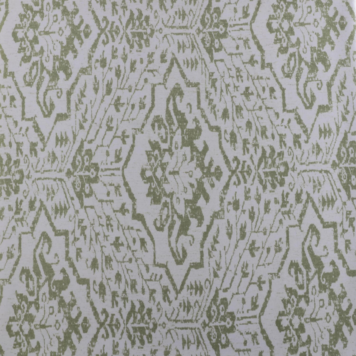 Tabriz Green Designer Printed Blackout Swatch