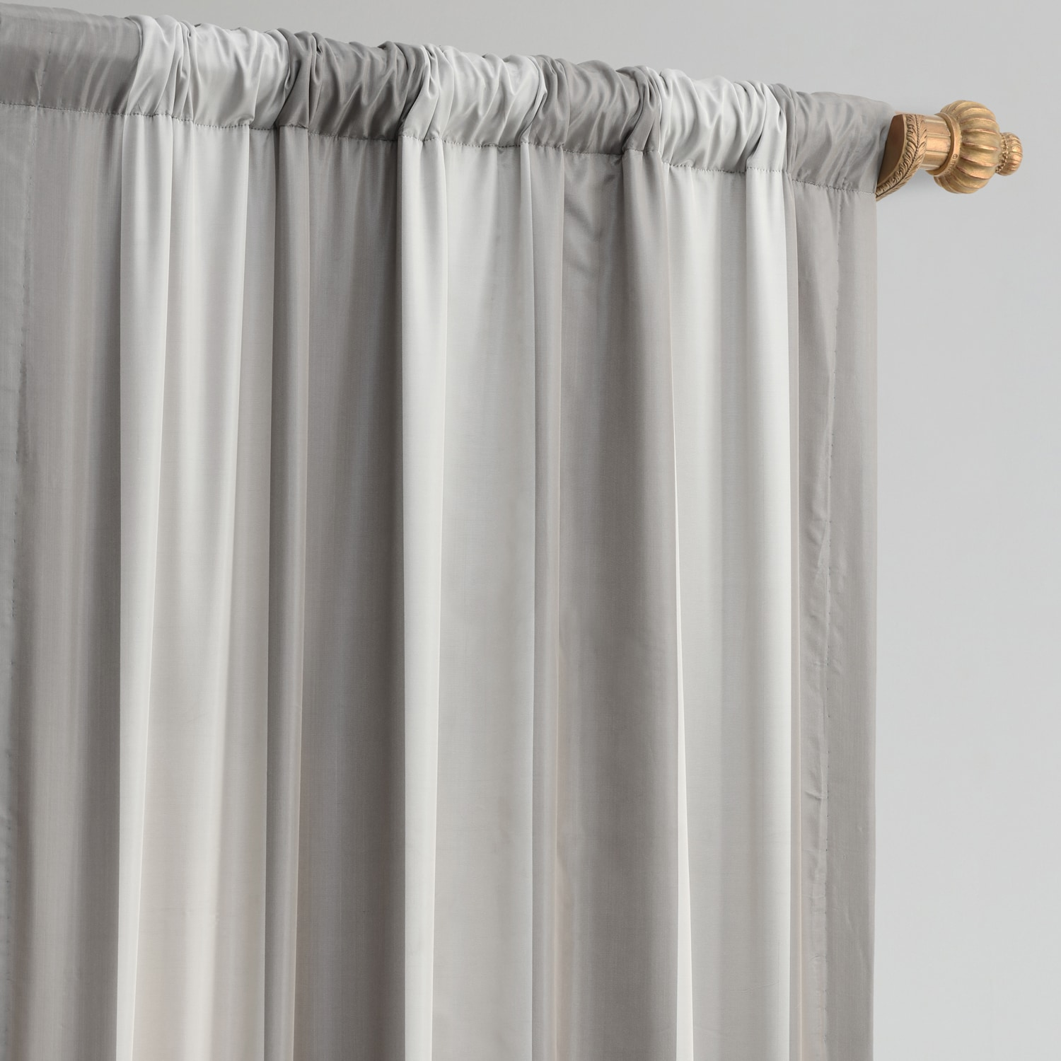 Hartford Faux Silk Stripe Curtain