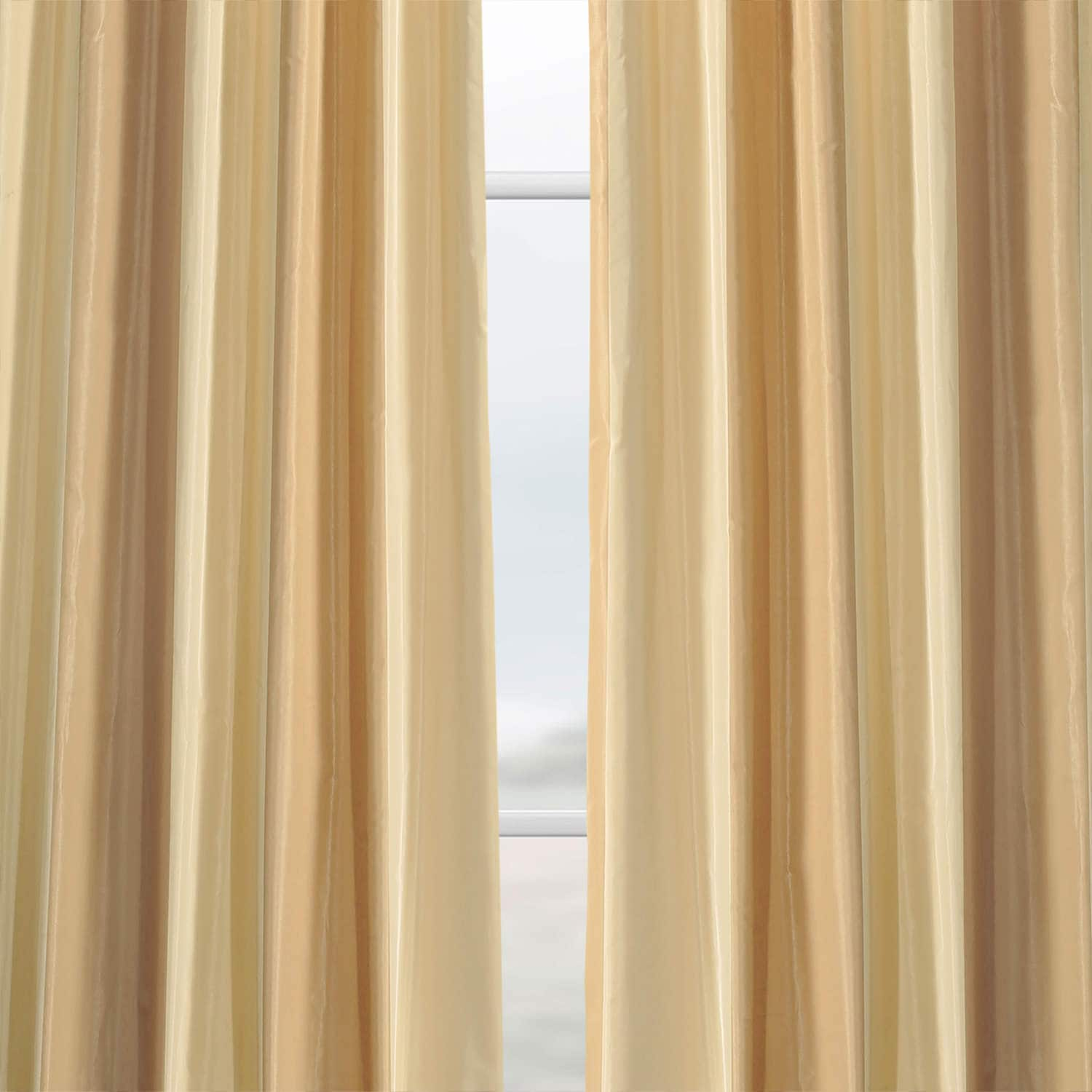 Bershire Faux Silk Stripe Curtain