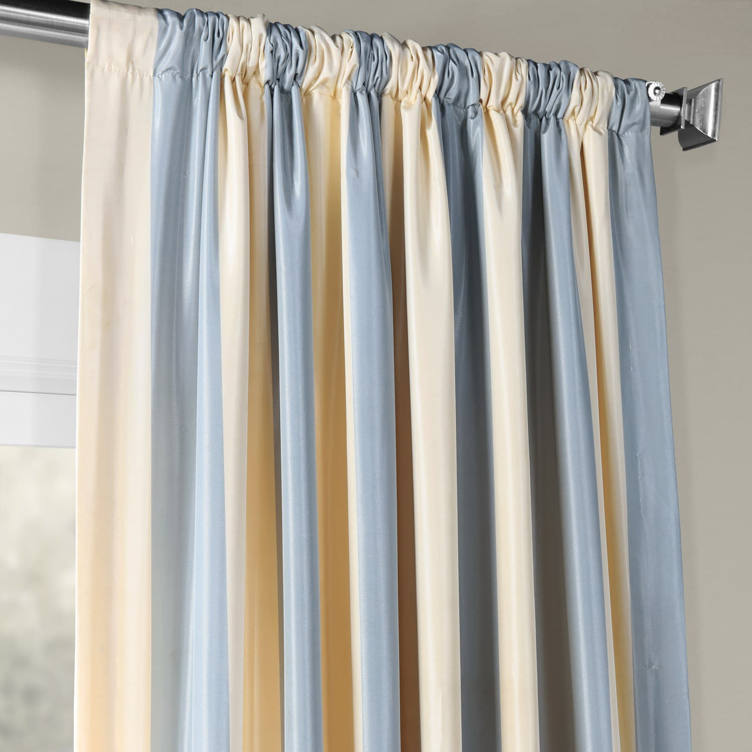 inches curtains zq blackout curtain drapes striped brown inch gallant panel grommet bl with window posh panels black exciting nursery patterned bamboo pier rod long