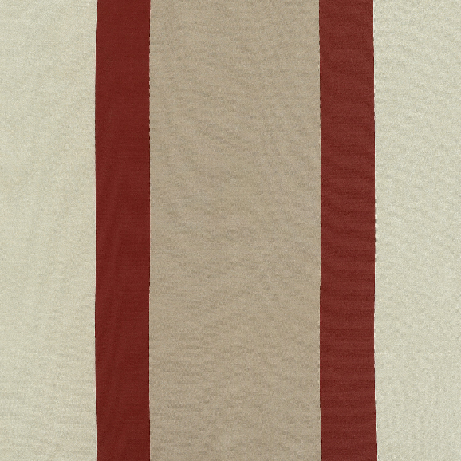 Manchester Gold & Red Designer Striped Faux Silk Fabric