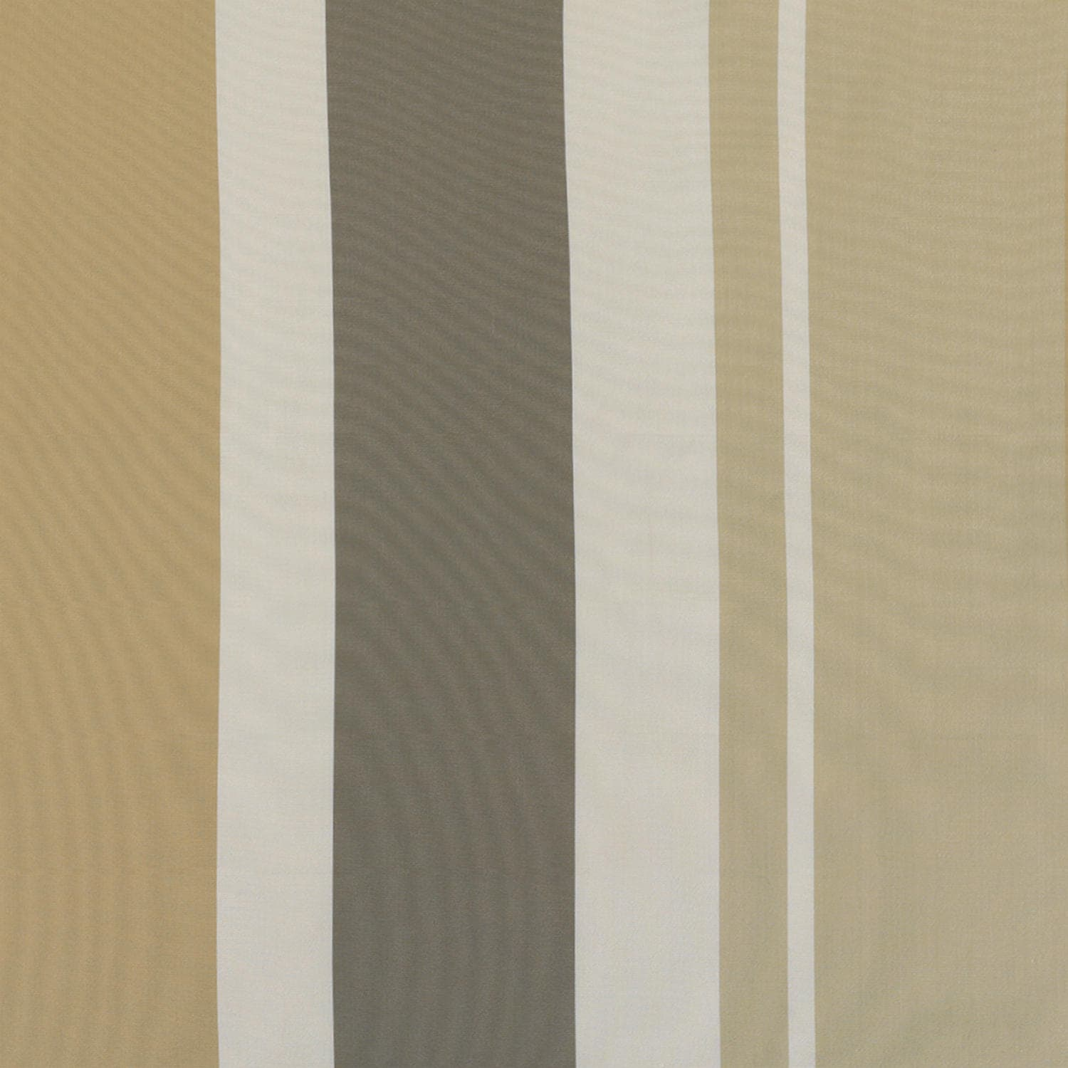 Norfolk Taupe & Gold Designer Striped Faux Silk Fabric