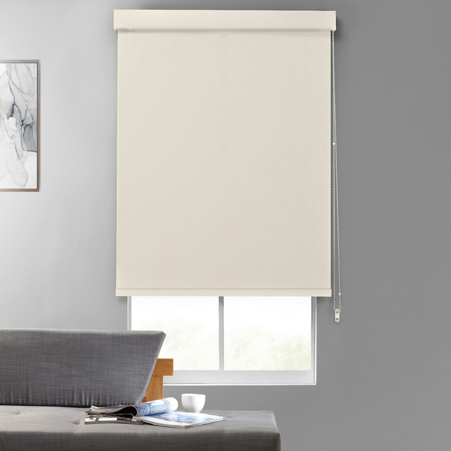 Broadcloth Textured Blackout Roller Shades