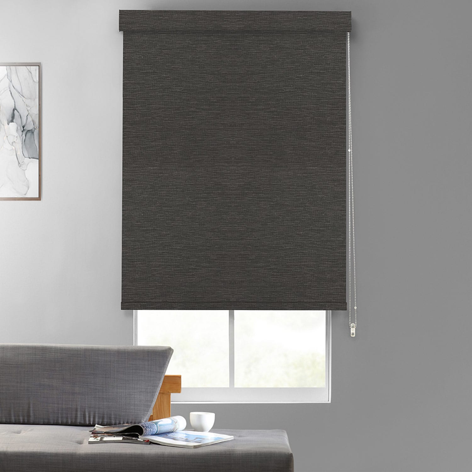 Dobby Textured Blackout Roller Shades