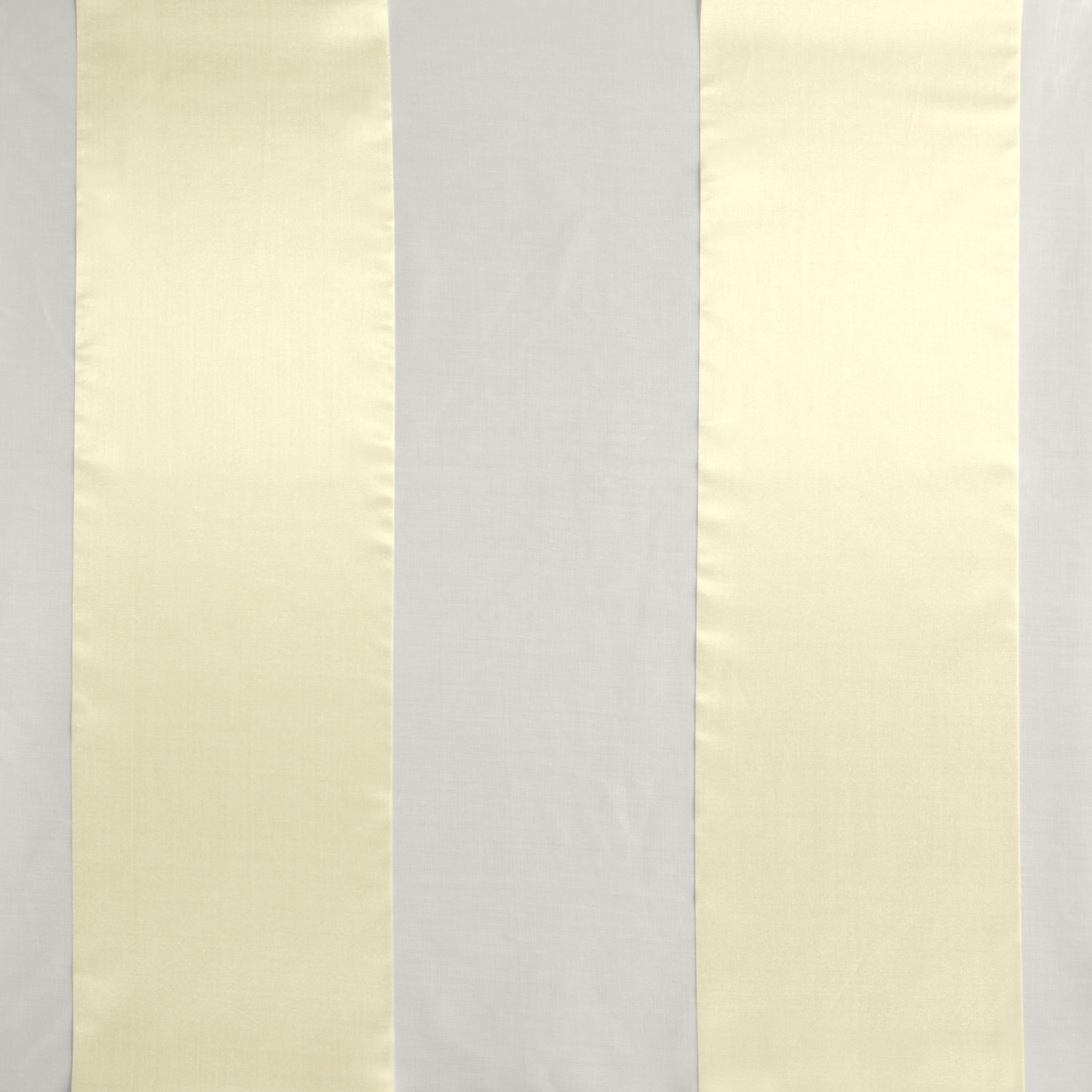 Gloss White Organza Vertical Stripe Sheer Swatch