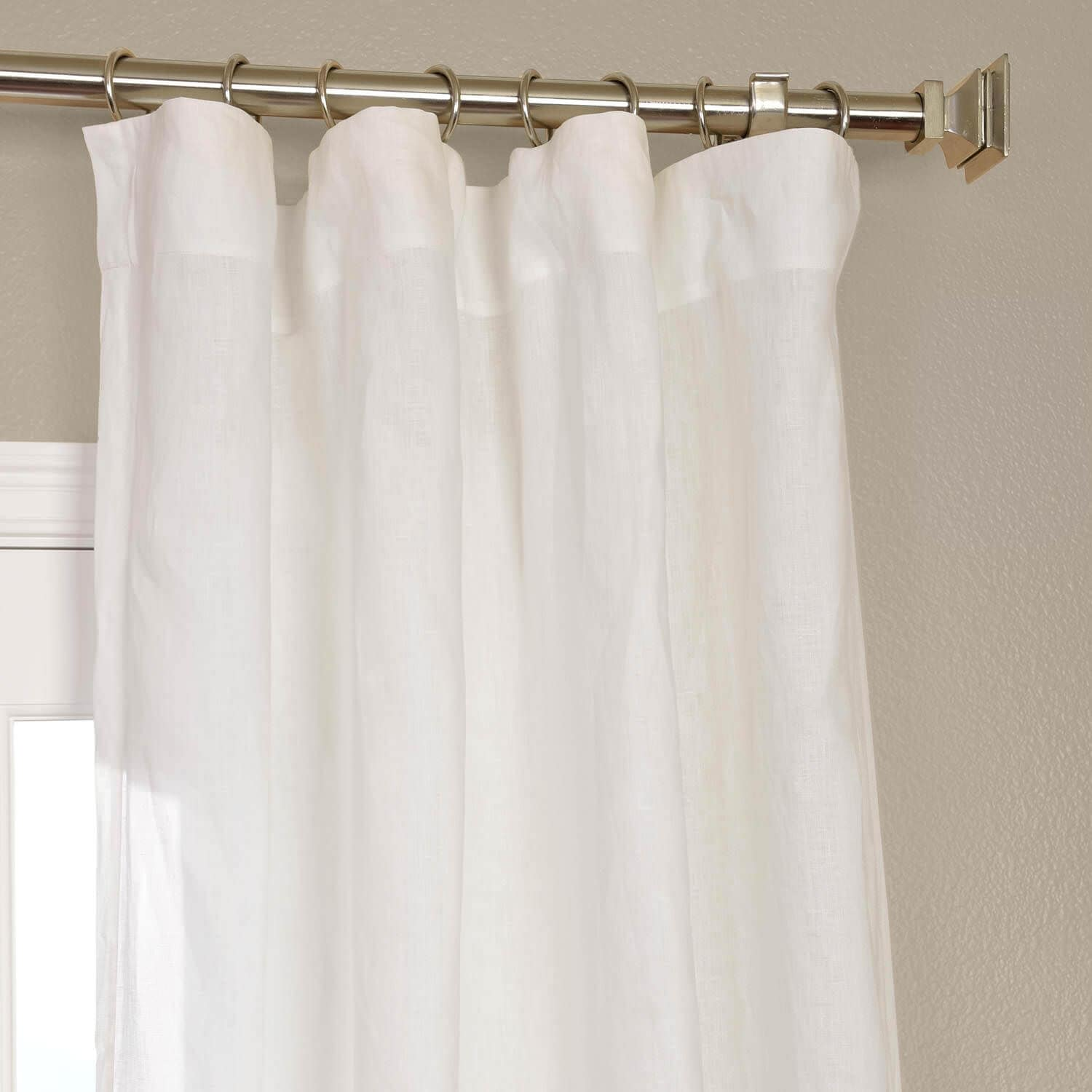 Lace Curtains And How To Clean Them Properly Signature Antique Lace French Linen Sheer Curtain ...