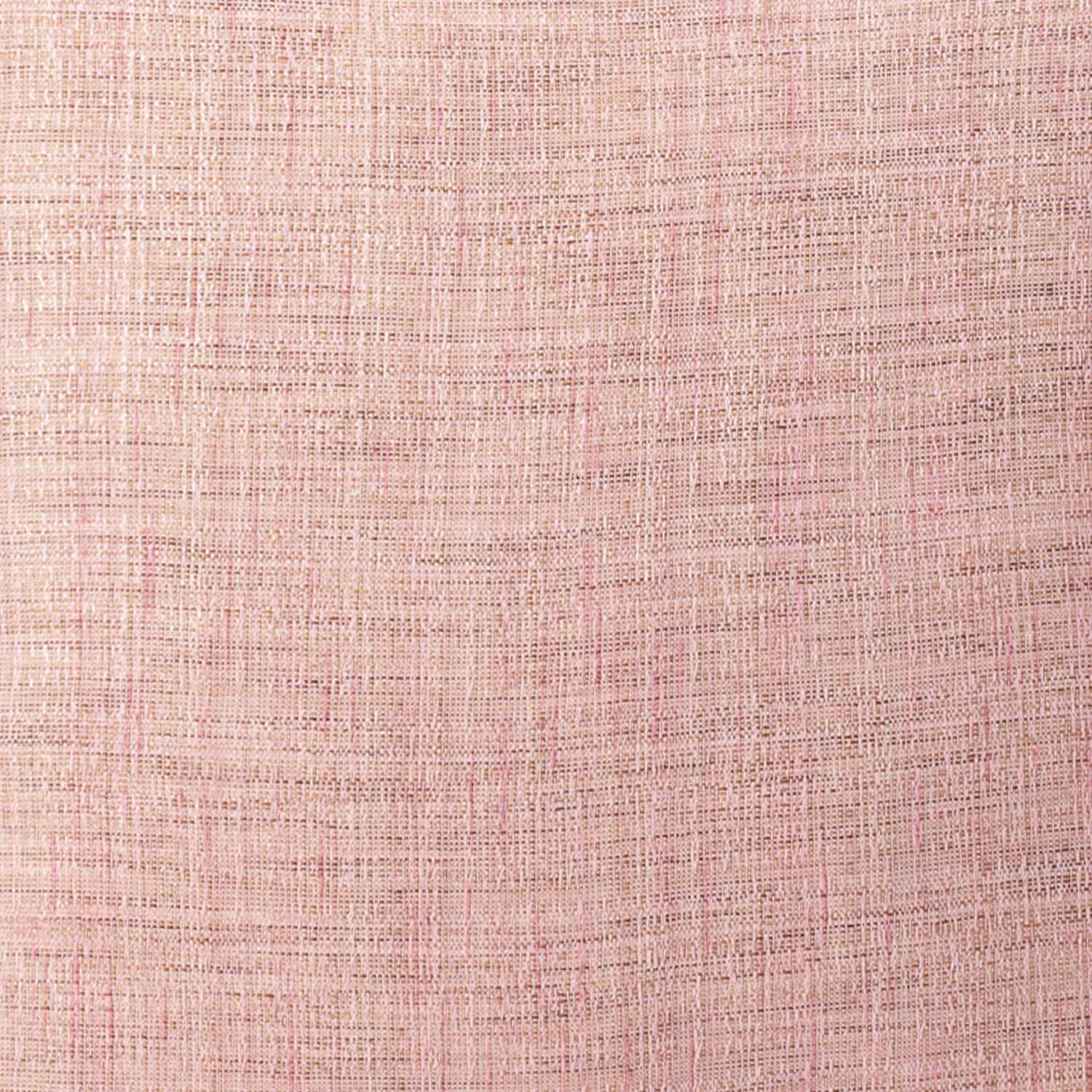 Rosey Pink Yarn Dyed Designer Faux Raw Textured Silk Cushion Cover - Pair