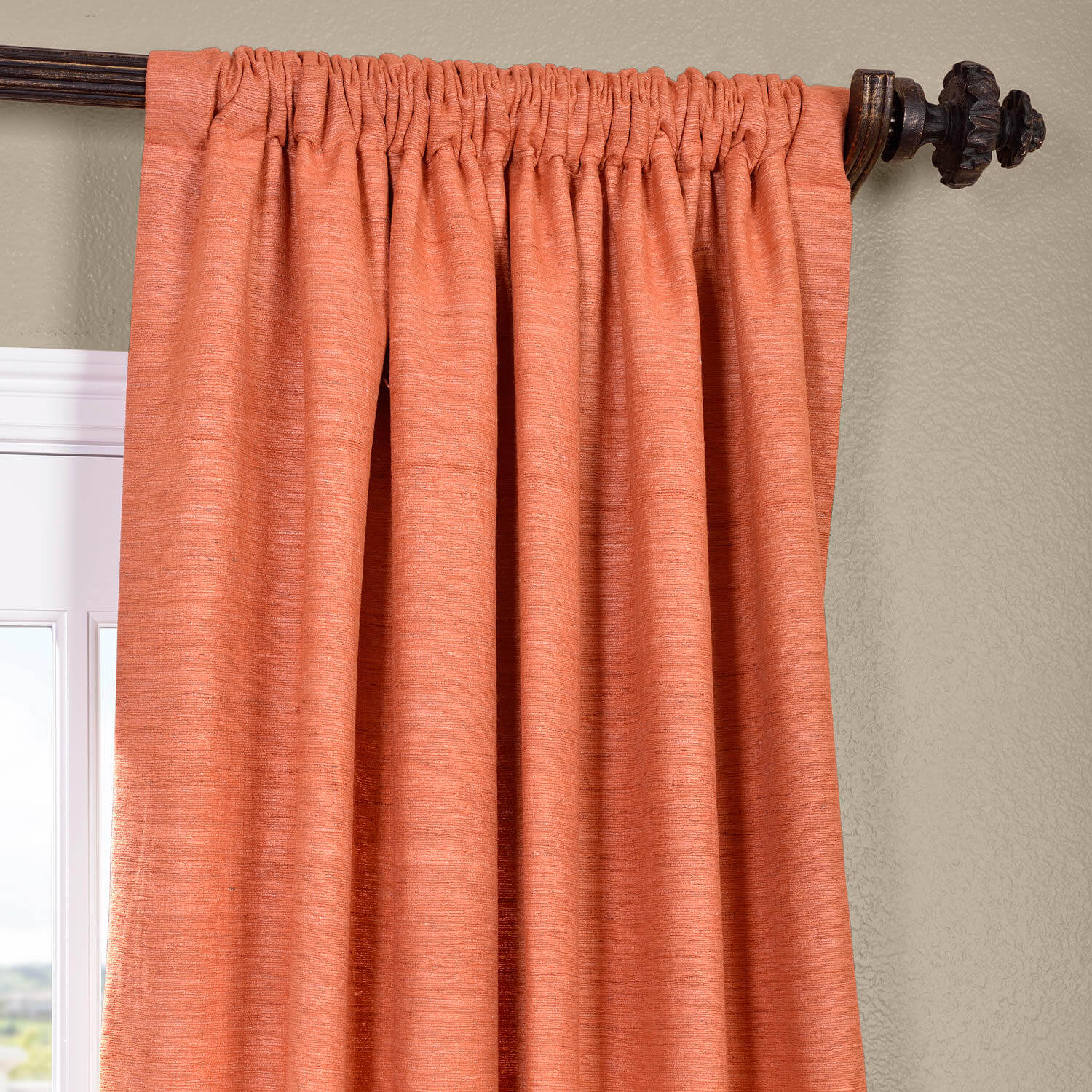 curtains pleat panels pinch faux expand curtain panel marquee flared p silk click to