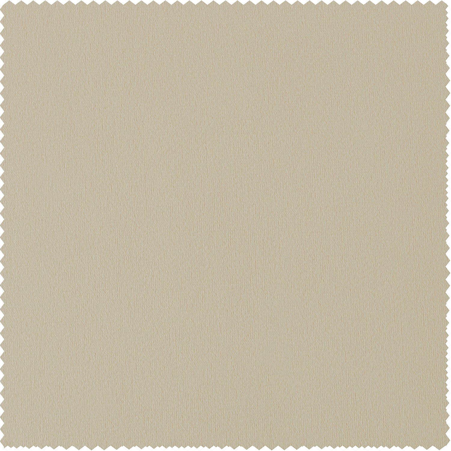 Signature Ivory Blackout Velvet Fabric