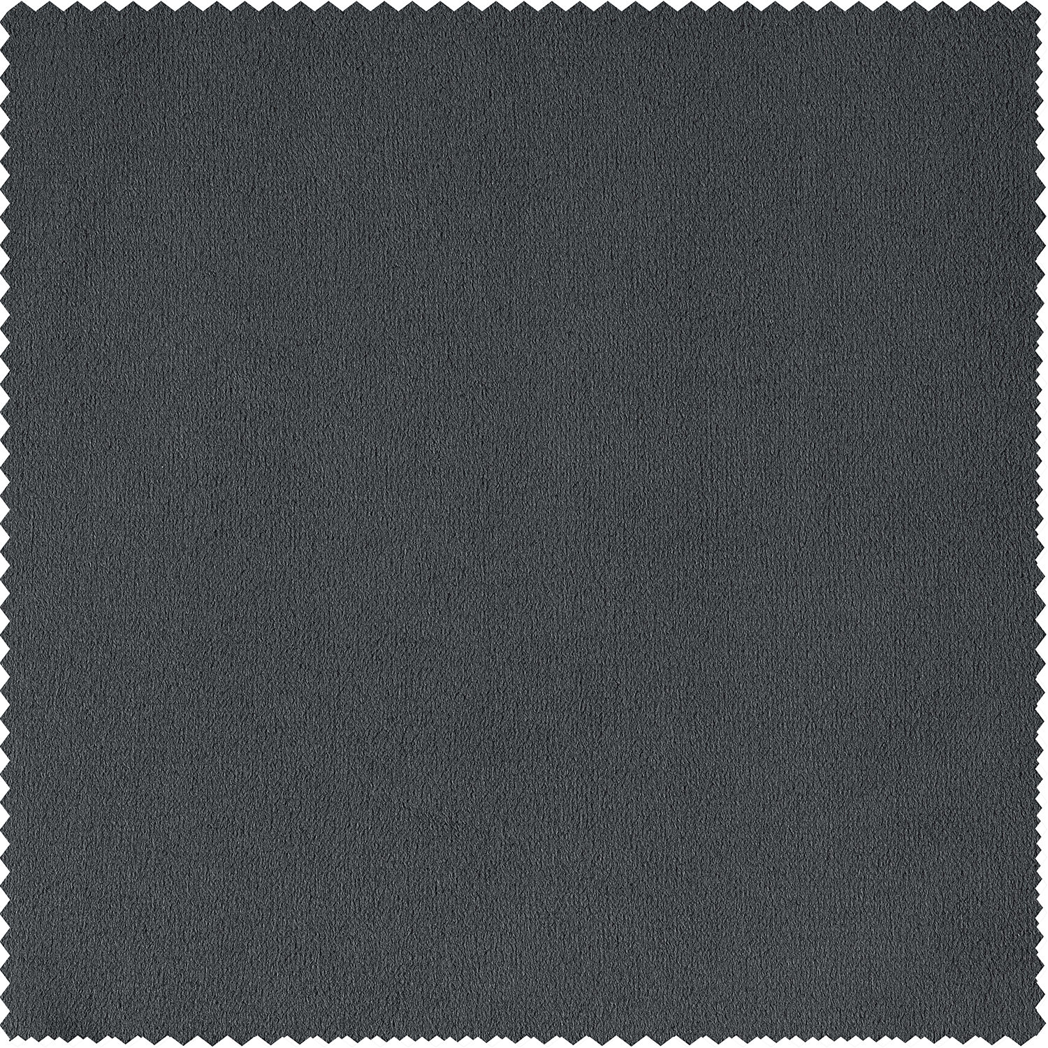 Signature Natural Grey Blackout Velvet Fabric