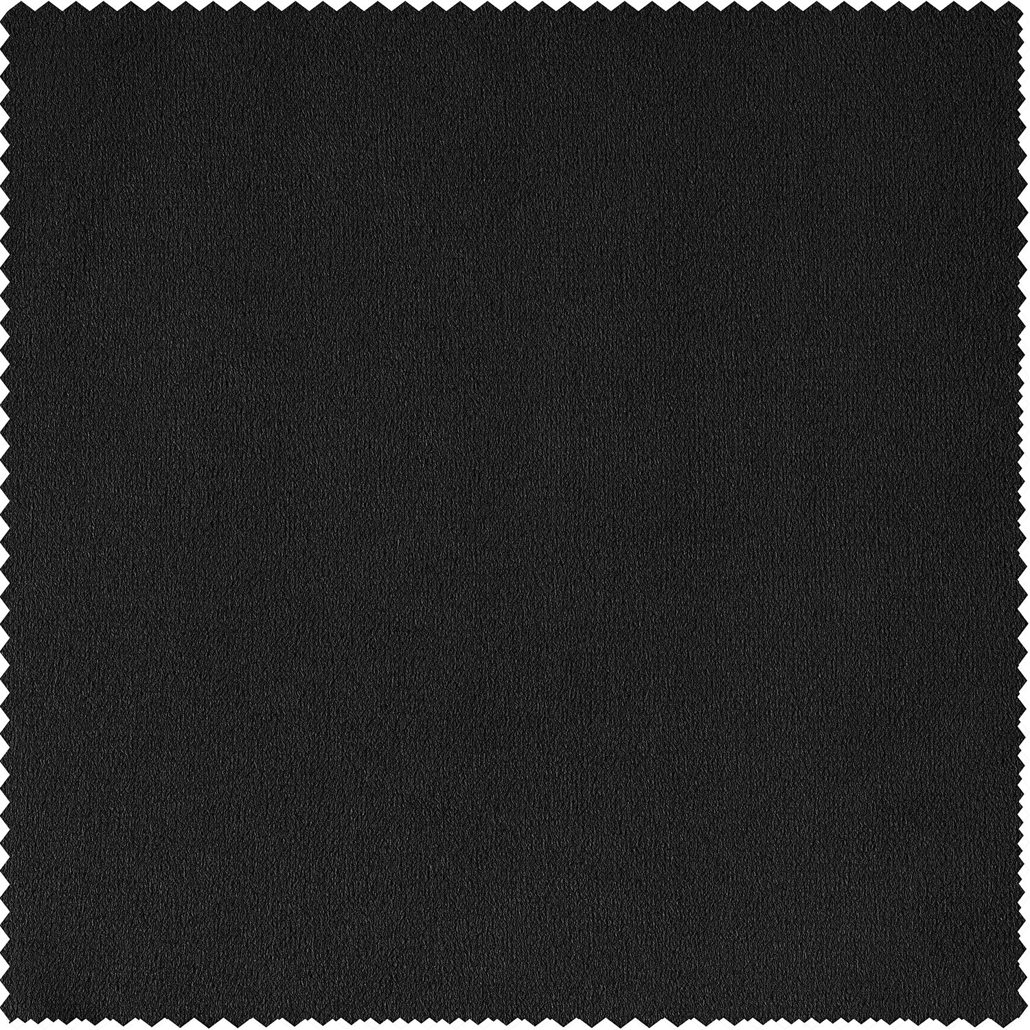 Signature Warm Black Blackout Velvet Fabric