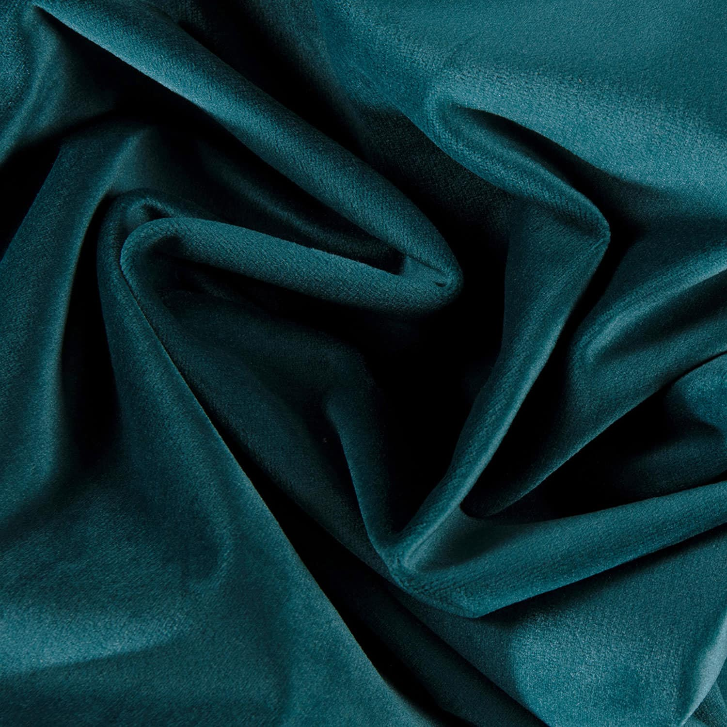 Deep Sea Teal Heritage Plush Velvet Swatch