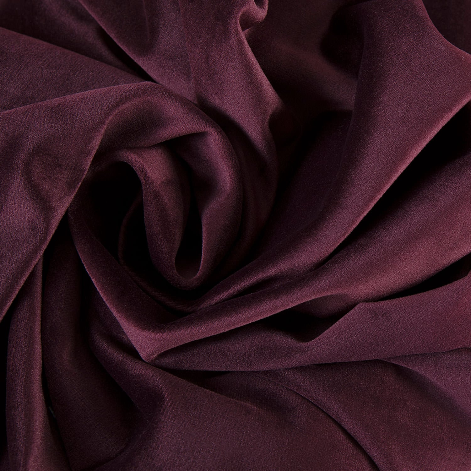 Winter Plum Heritage Plush Velvet Fabric