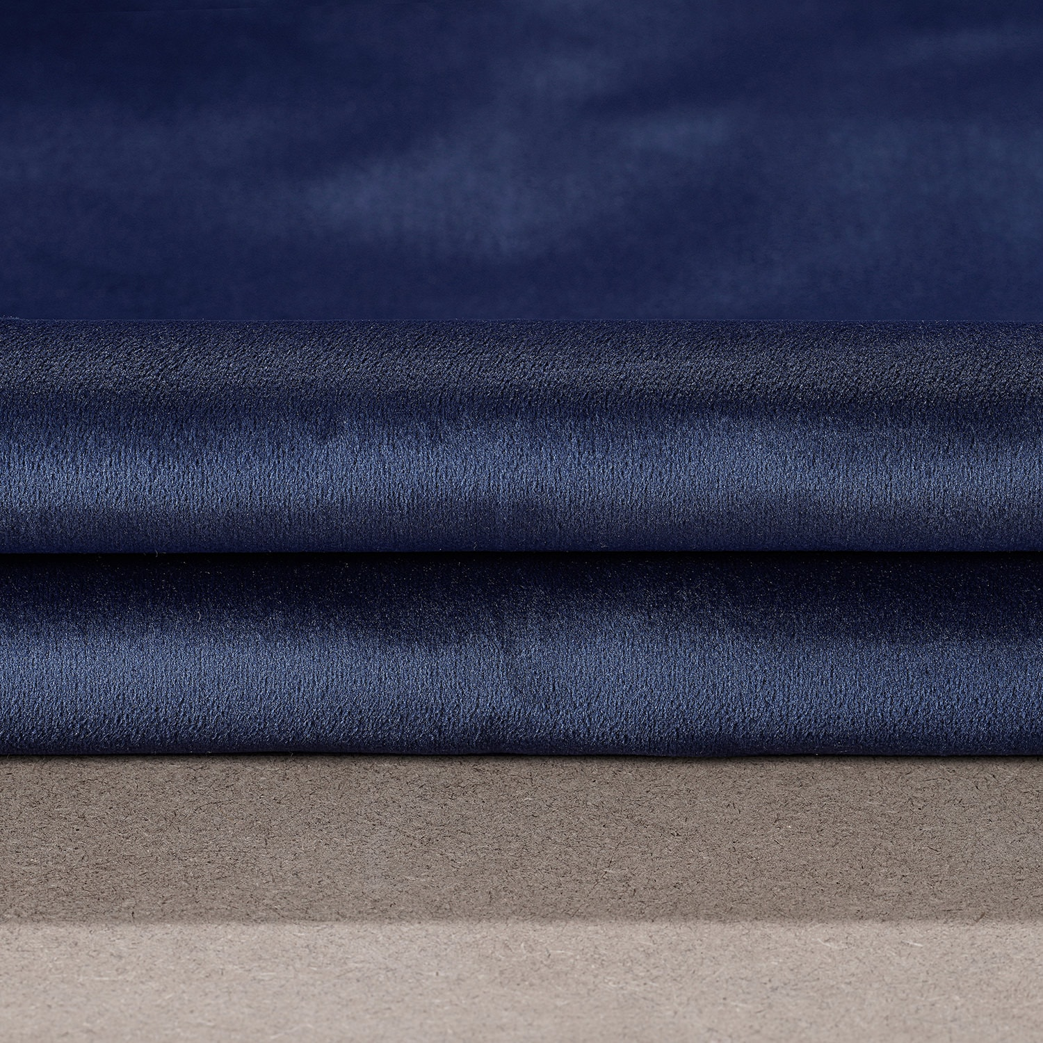 Designer Navy Performance Velvet Blackout Swatch