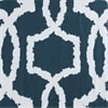 Lyons Blue Printed Cotton Twill Swatch