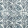 Catalina Blue Printed Cotton Cover- PAIR