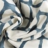 Ellis Blue Printed Cotton Twill Fabric