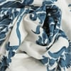 Duchess Blue Printed Cotton Twill Swatch