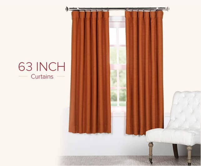 63inch curtains