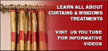 Learn about Curtains & Window Treatments