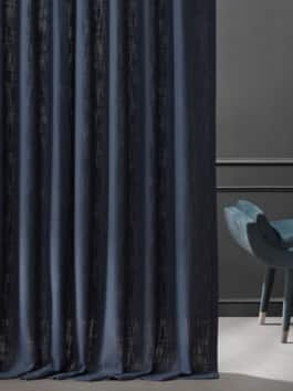Belgian Heavy Faux Linen Curtains