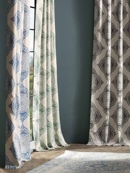 Pattern & Printed Blackout & Room Darkening Curtains