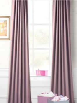 Solid Patterned Blackout & Room Darkening Curtains