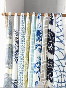 Pattern & Printed Cotton Curtains