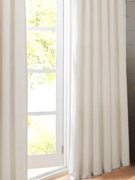 Cotton Textural LinenWeave Curtains