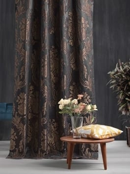 Designer Damask Curtains