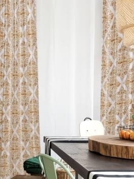 Designer Printed Blackout Curtains