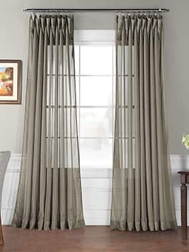 Extra Wide Sheer Curtains