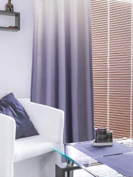 Ombre Linen Textured Light Filtering Curtains