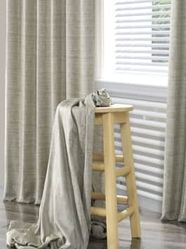 Yarn Dyed Designer Faux Raw Textured Silk Curtains