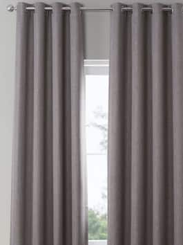 Grommet Linen Curtains