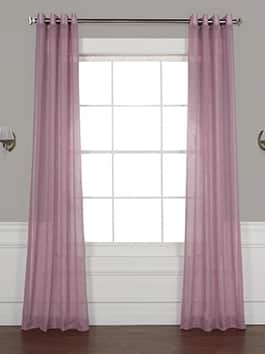 Grommet Sheer Curtains