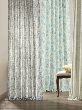 Pattern and Printed Cotton Curtains