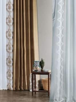 Pattern & Printed Faux Silk Curtains