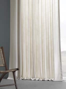 Pebble Weave Faux Linen Curtains