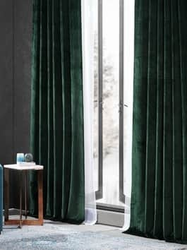 Performance Velvet Hotel Blackout Curtain Pair