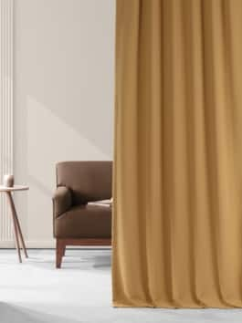 Performance Woven Hotel Blackout Curtain Pair