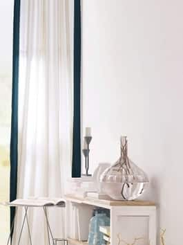 Pleated Printed Cotton Curtains