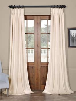 Pleated Signature Blackout Velvet Curtains