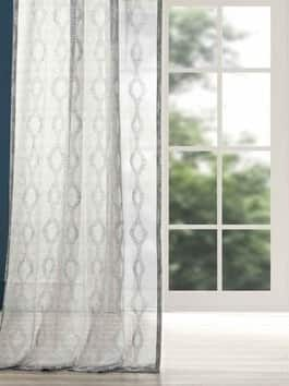 Printed & Embroidered Sheer Curtains